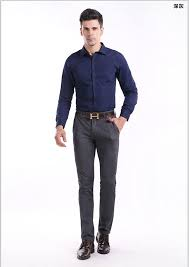 mens business casual pants designer fashion stretch chino pants