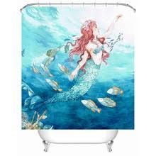 buy mermaid bathroom decor and get free shipping on aliexpress com