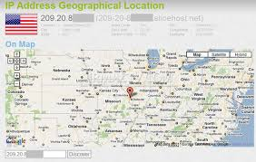 ip address map get ip address geographical location with ip locator