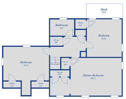 floor layout 3 bedroom