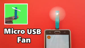 fan with usb connection how to make a powerful micro usb fan for mobile phone diy youtube