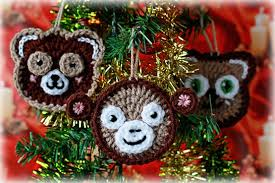 new pattern crochet animals ornaments appliques garland