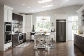 gray kitchen cabinets with black stainless steel appliances ready for a kitchen rev new black stainless steel and