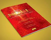 christmas concert program template pentecost church flyer template on behance