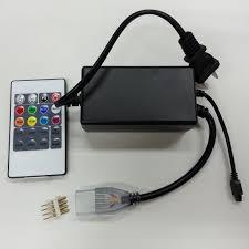 remote rgb controller for ac 110v 220v rgb led strip light