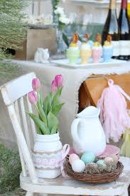 Easter Sunday Table Decorations by Easter Sunday Brunch Table Mythirtyspot