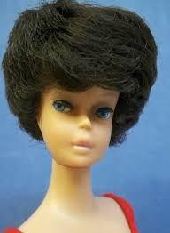 bubble cut hair style vb039 brunette bubblecut barbie 1959 1966 dolls nice twice