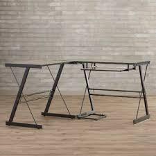 Wood L Shaped Desk L Shaped Desks You Ll Wayfair