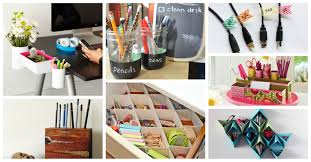 How To Organize A Small Desk by 16 Diy Office Organization Ideas That Will Blow Your Mind