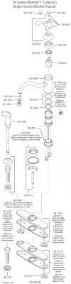 price pfister kitchen faucet parts diagram plumbingwarehouse price pfister parts for model 34 and t34
