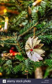 edwardian handmade christmas decorations angel on christmas tree