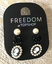 topshop message stud earrings topshop stud costume earrings ebay