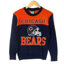 nfl licensed chicago bears tacky sweater the sweater shop