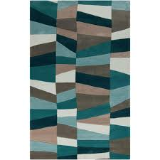 8 X 13 Area Rug Artistic Weavers Emil Teal 9 Ft X 13 Ft Indoor Area Rug