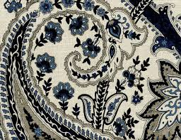 pkl kolkata paisley upholstery indigo home decor home decor
