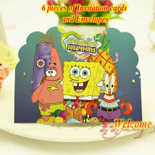 a bargain food grade security birthday party kit spongebob
