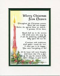 merry christmas from heaven 16 best christmas images on poems day gifts