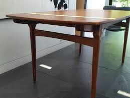 Teak Dining Room Set by Franeker Teak Dining Table Does Anyone Recognize The Design