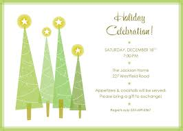 Invitation Card For Dinner Christmas Party Invitation Template Kawaiitheo Com
