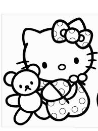 baby kitty coloring pages coloring pages