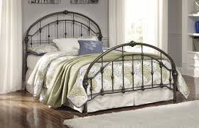 queen metal bed bronze finish sam levitz furniture