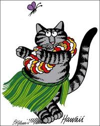 i a soft spot in my for kliban cats i used to