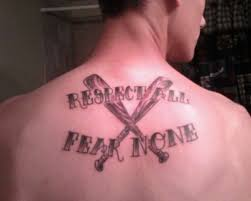 respect some fear none tattoo pictures to pin on pinterest