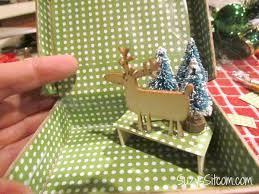 diy miniature vintage suitcase ornament