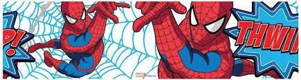 Spiderman Wallpaper For Bedroom Marvel Comics Wallpaper And Borders Spiderman Hulk More Boys