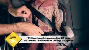 comment attacher siège auto bébé comment installer un siège d appoint coup de pouce