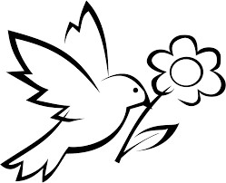 coloring pages birds flowers coloring