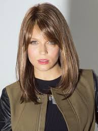 long bob haircut with side bangs long bob hairstyles with side
