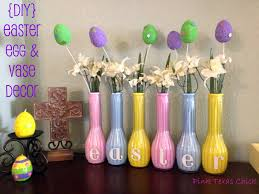Easter Egg and Vase Decor Craft DIY}