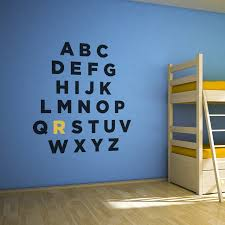 Harlequin Home Decor by Alphabet Wall Decal Small Home Decor Inspiration Marvelous