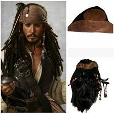 sparrow hair cosplaydiy of the caribbean captain sparrow
