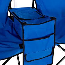 Beach Umbrella And Chair Picnic Double Folding Chair W Umbrella Table Cooler Fold Up Beach