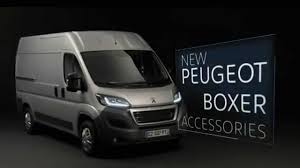 new peugeot new peugeot boxer accessories youtube