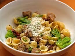 Pasta Sausage Dinner Tonight Orecchiette With Sausage Broccoli And