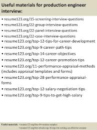 Production Engineer Resume Pdf Top 8 Production Engineer Resume Samples