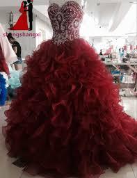 burgundy quince dresses online shop burgundy quinceanera dresses 2017 sweetheart