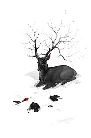 black stag by hellcorpceo on deviantart