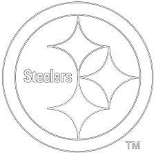 printable steelers logo 18 steelers coloring pages steelers