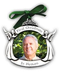 personalized remembrance ornaments christmas in heaven memorial ornament