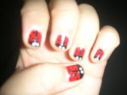 ladybug nail art nailspedia