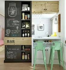 small kitchen bar ideas small space solution for an eat in kitchen wall mounted oak bar