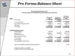 Restaurant Balance Sheet Template 3 Pro Forma Balance Sheet Template Procedure Template Sle