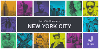 influencers in your backyard our top 25 in nyc u2013 julius blog