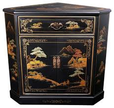 japanese corner cabinet traditional coffee and accent tables