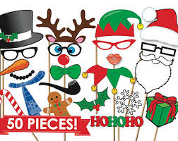 christmas photo booth props christmas photo booth props etsy