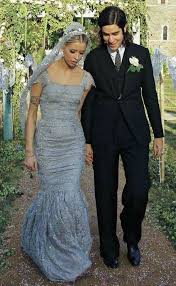 Dove Gray Wedding Dress Peaches Geldof Dolce U0026 Gabbana Dove Grey Wedding Dress Love The